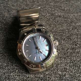 Tag Heuer Aquaracer Ladies With Blue MOP Dial