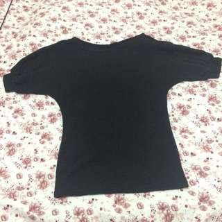燈籠袖束口棉上衣