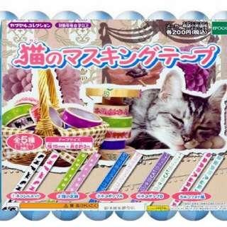 貓咪紙膠帶