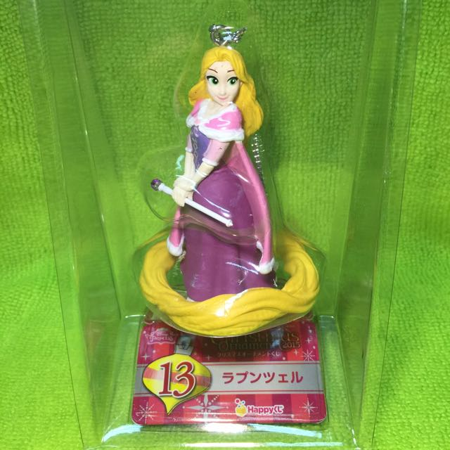 2015 HAPPY賞 日本超商限定 迪士尼 聖誕吊飾 長髮公主