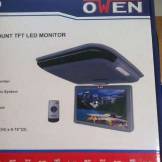 "Owen-9"" Roottop Moniter With Installation."