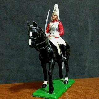 金屬製白金漢宮衛騎小擺飾