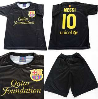 46a1b5bc328 BN Soccer Jersey Suits (Barcelona - Messi)    10 Only!!! 3yrs