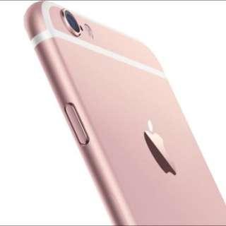 I Phone 6s 全新未拆封 64G 玫瑰金