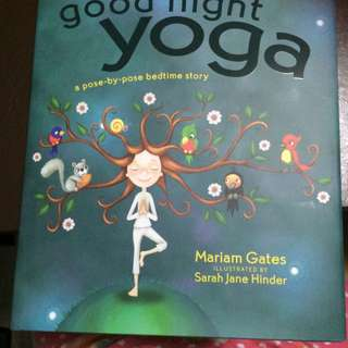 New! Children's Yoga Book - Good Night Yoga