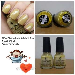 SALE China Glaze KALAHARI KISS