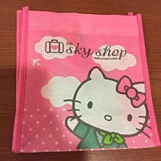 KITTY小袋子(凡購買服飾類即贈送一個,只送不賣,數量有限送完為止)