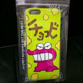 IPhone 6s 4.7 蠟筆小新恐龍餅乾 磨砂手機硬殼