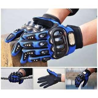 越野摩托車騎行手套全指賽車電動車騎士機車 自行車手套 防擦傷防磕碰
