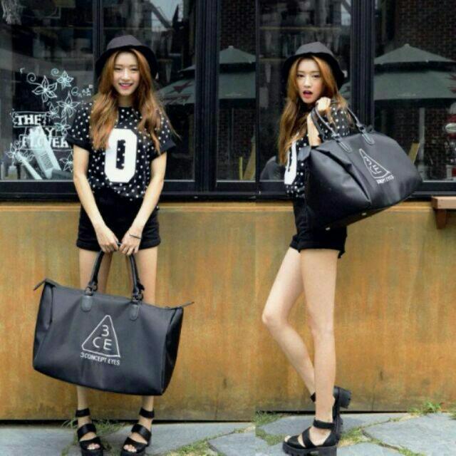 韓國3CE大旅行袋