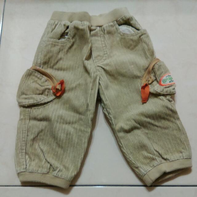 """西班牙""""美悅兒""""男童冬褲9m(74cm)"""