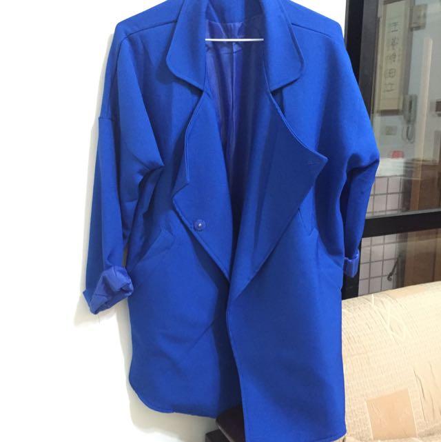 (二手)寶藍色大衣
