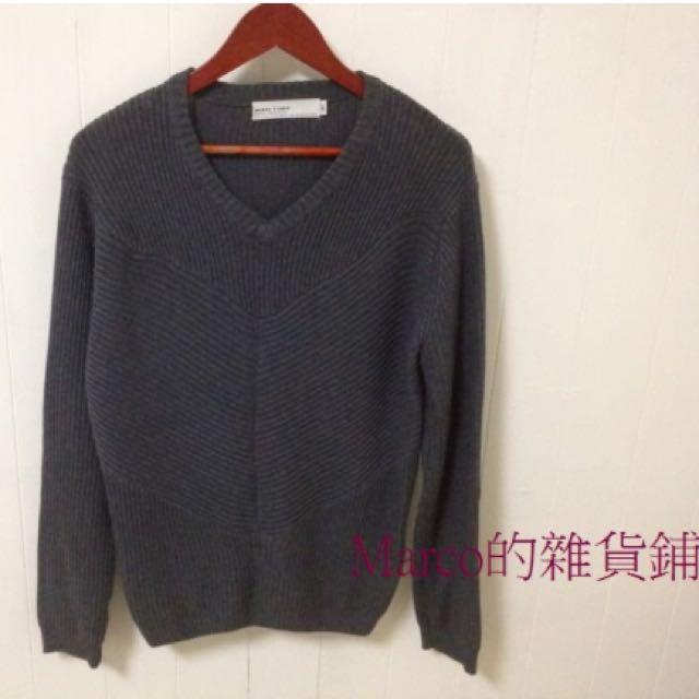 韓版螺紋造型針織衫