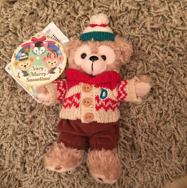 達菲熊掛飾娃娃