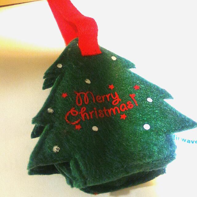 保留#(含運)聖誕樹吊飾/零錢包/擺飾