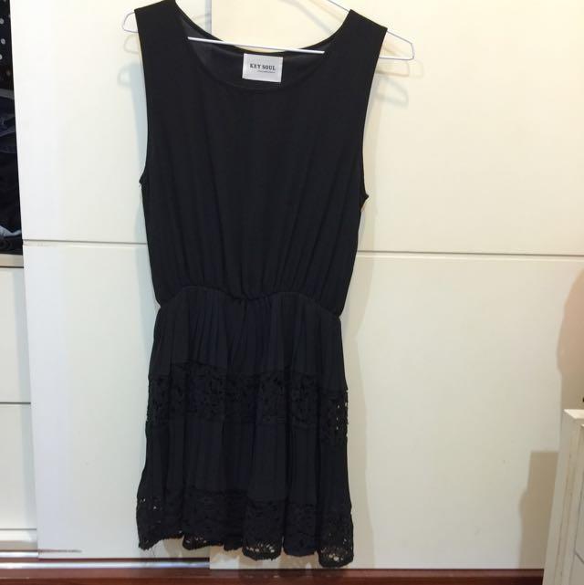 氣質蕾絲裙擺小洋裝 近全新