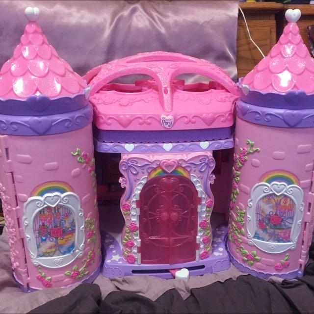 割愛更新 彩虹小馬 早期超大城堡 芭比夢幻系列