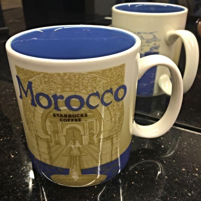 (全新)北非 摩洛哥 Morocco 星巴克 城市杯 馬克杯 16oz 有SKU