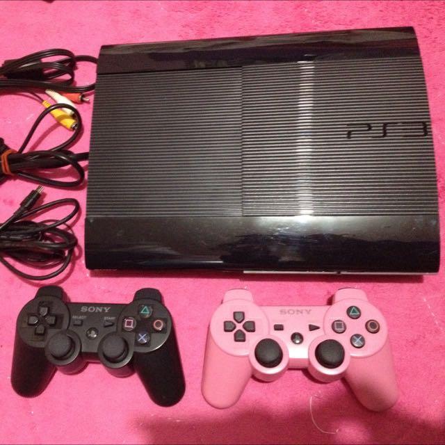 二手 PS3 黑色250GB 型號CECH-4007B