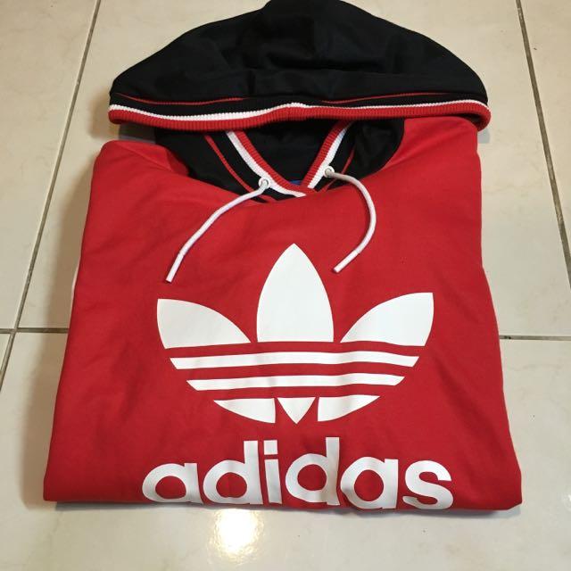 Adidas 長版帽T (男女皆可