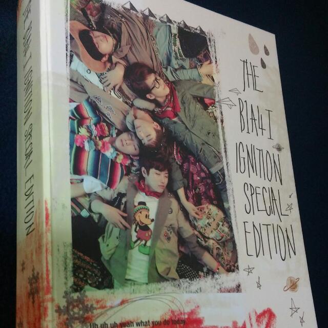 B1A4首張正規「IGNITION」(韓國進口特別版)