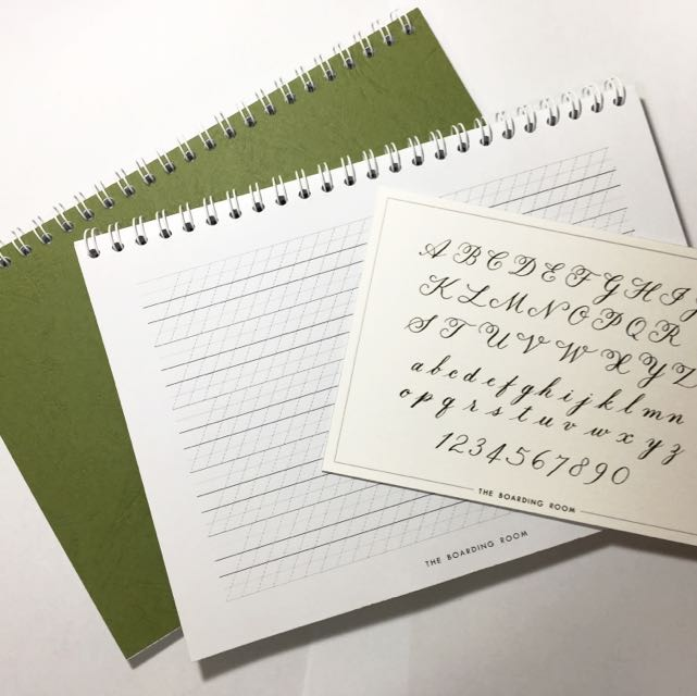 Calligraphy Practice Notebook - A5 Size