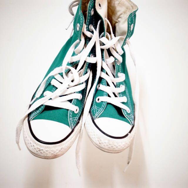 Converse 高筒帆布鞋