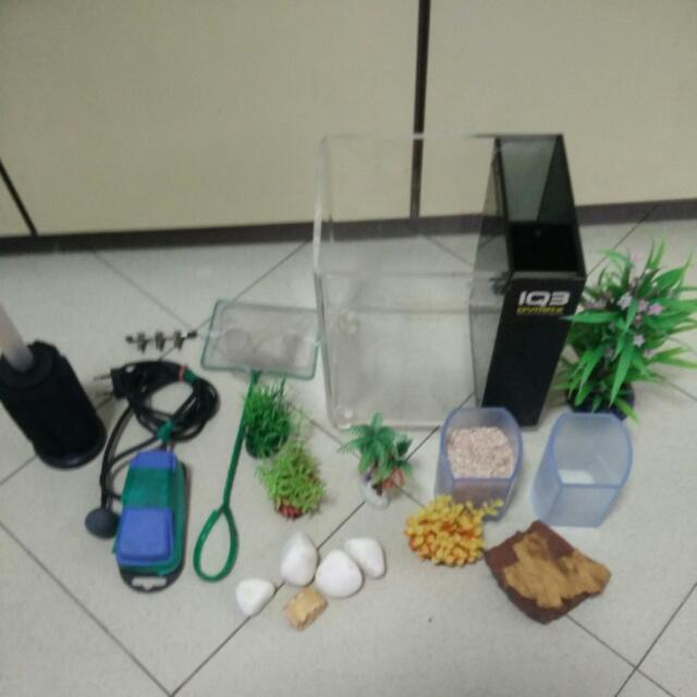 Good Deal!!!  Fish Tank And Accessories