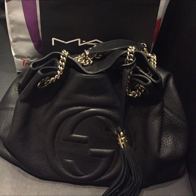 Gucci Soho(中)款鍊包