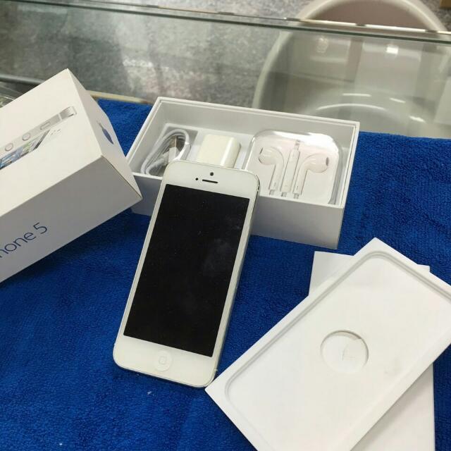 Iphone5 白色/32g