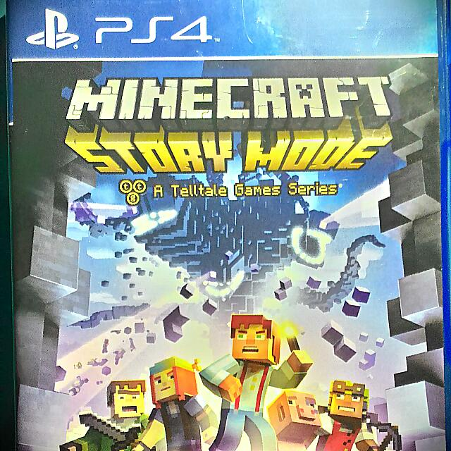 Minecraft Story Mode (Ps4), Toys & Games on Carousell