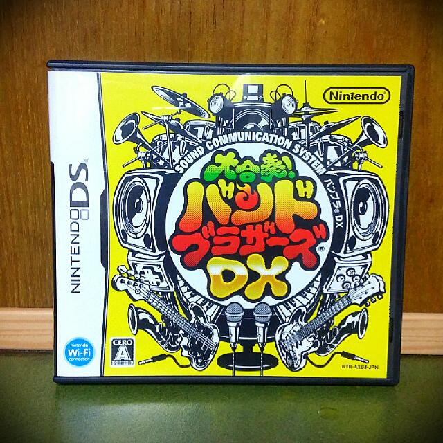 NDS 經典遊戲「大合奏DX」 二手