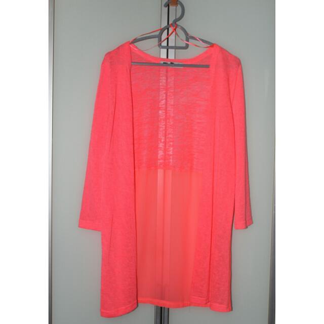 TEMT Neon Pink Cardigan
