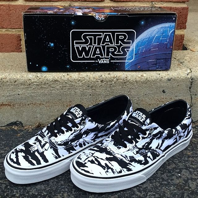 babd0486ad PO  VANS Era X Star Wars Dark Side   Storm Trooper Camo
