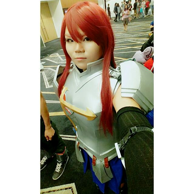pre erza scarlet heart kreux armor fairy tail cosplay qyop