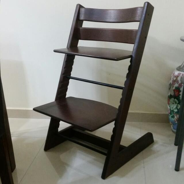 preloved and lightly used stokke high chair furniture on carousell