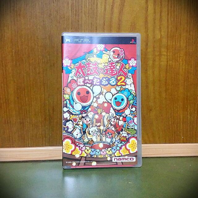 PSP 經典遊戲「太鼓達人2」 二手