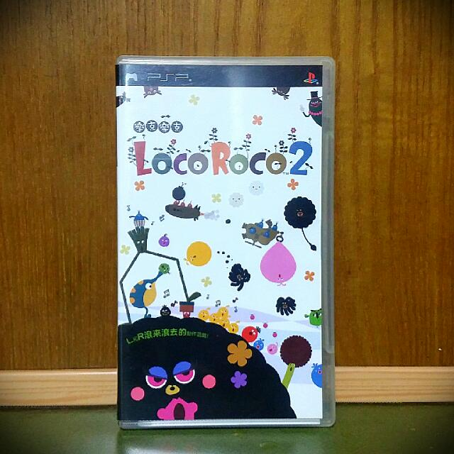 PSP 經典遊戲「Loco Roco 2」 二手