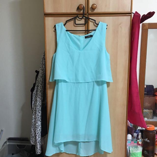 Zalora Mint Green Dress