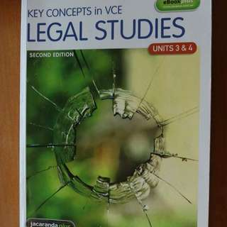 Legal Studies Key Concepts In VCE