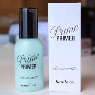 BN Banila Co Classic Matte Primer 30ml