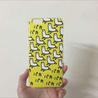 降價現貨免運 草泥馬黃色透明軟殼 手機殼 Iphone6 Plus
