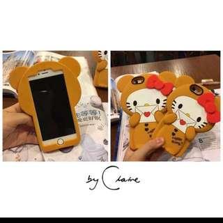 超可愛Kitty拿著信封袋立體手機殼 Iphone6s 5.5