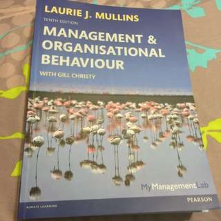 Laurie J. Mullins Mgmt & Org Behaviour