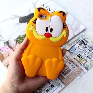 加菲貓iPhone 手機殼 軟殼