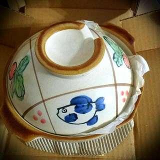 全新未使用過 巴掌型小砂鍋