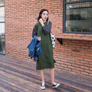 針織毛衣 全新綠色