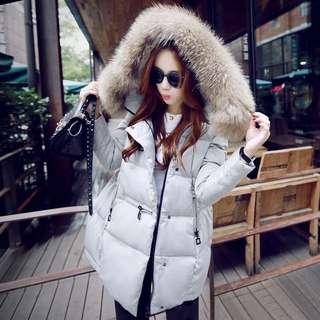 獨💗韓版超保暖羽絨外套