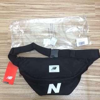 New Balance Bum Bag logo 黑色 男女 休閒 運動 隨身包 側背包 腰包 滑板 缺貨
