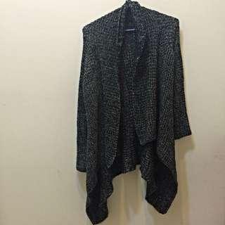 ❗️便宜賣❗️黑色 針織 外套 擺長